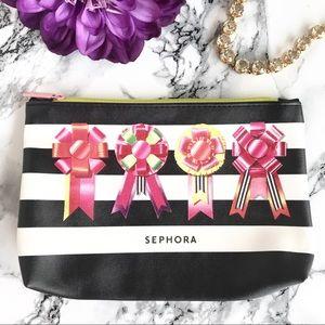 🆕NEW▪️ Sephora Stripe Cosmetic Bag